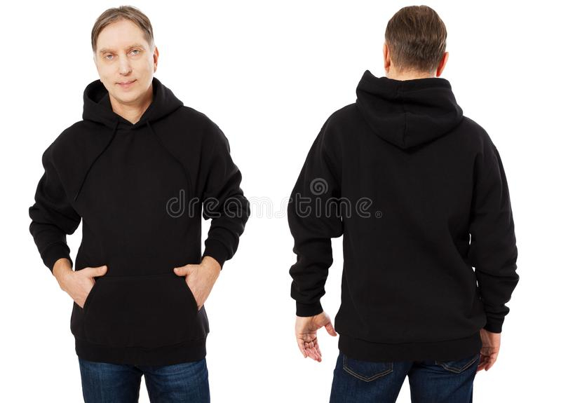 11,11 Blank Hoodie Template Front Back Photos - Free & Royalty  Regarding Blank Black Hoodie Template For Blank Black Hoodie Template
