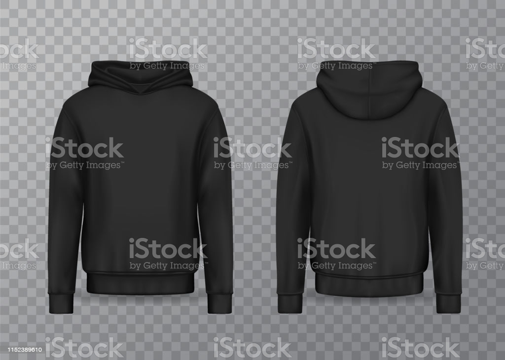 11,11 Hoodie Illustrations & Clip Art - iStock With Blank Black Hoodie Template In Blank Black Hoodie Template