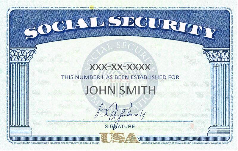 11,11 Social Security Card Photos - Free & Royalty-Free Stock  Throughout Social Security Card Template Pdf With Regard To Social Security Card Template Pdf