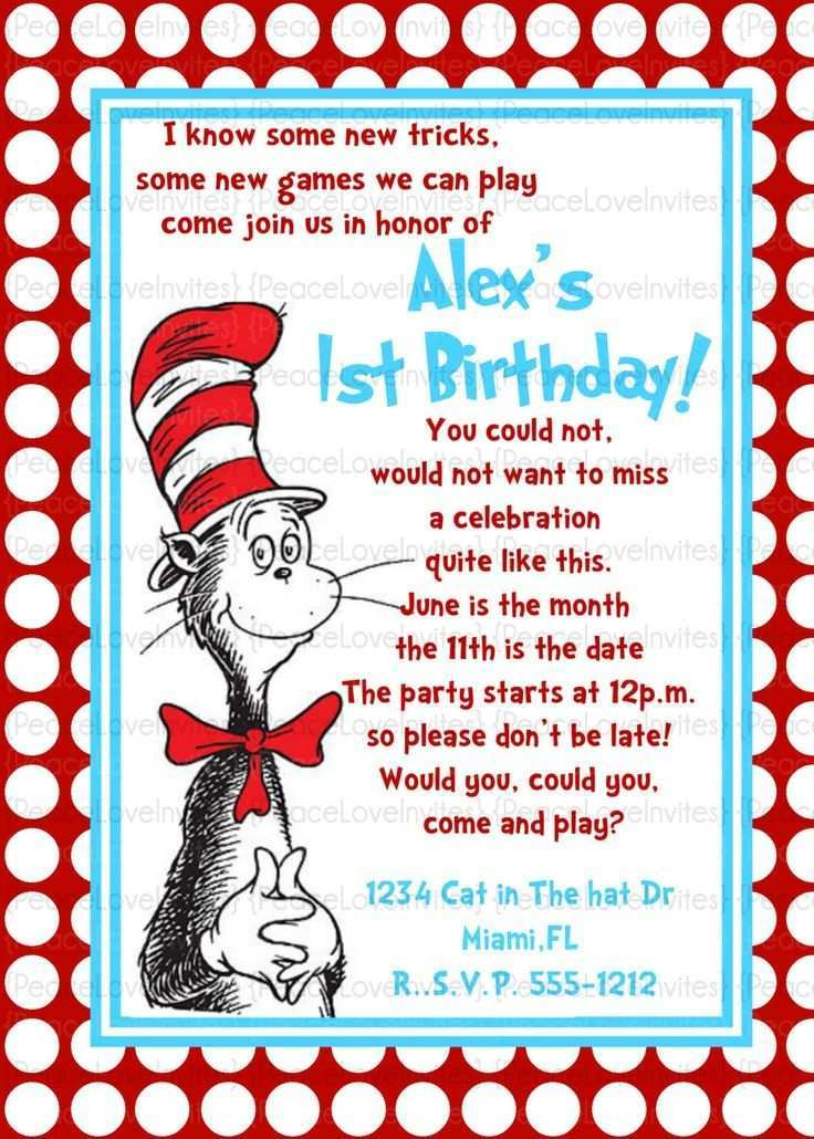 11 Adding Dr Seuss Birthday Invitation Template For Free by Dr  Intended For Dr Seuss Birthday Card Template Pertaining To Dr Seuss Birthday Card Template