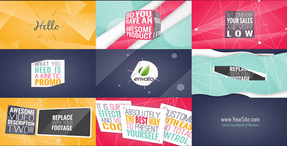 11 Amazing After Effects Kinetic Typography Templates – Bashooka Within Powerpoint Kinetic Typography Template