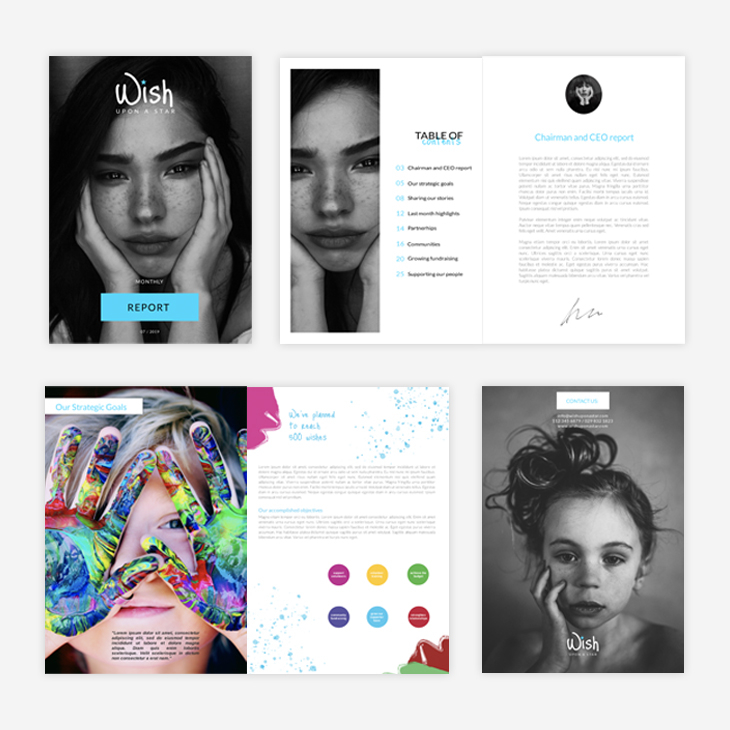 11 annual report templates designed to inspire you - Flipsnack Blog Pertaining To Chairmans Annual Report Template Inside Chairmans Annual Report Template