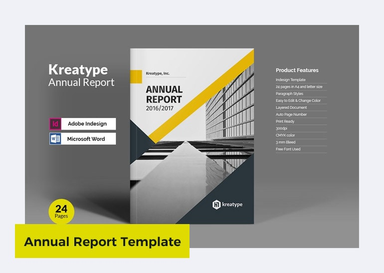 11+ Annual Report Templates in Word/PPT/InDesign — Thehotskills Within Microsoft Word Templates Reports Inside Microsoft Word Templates Reports