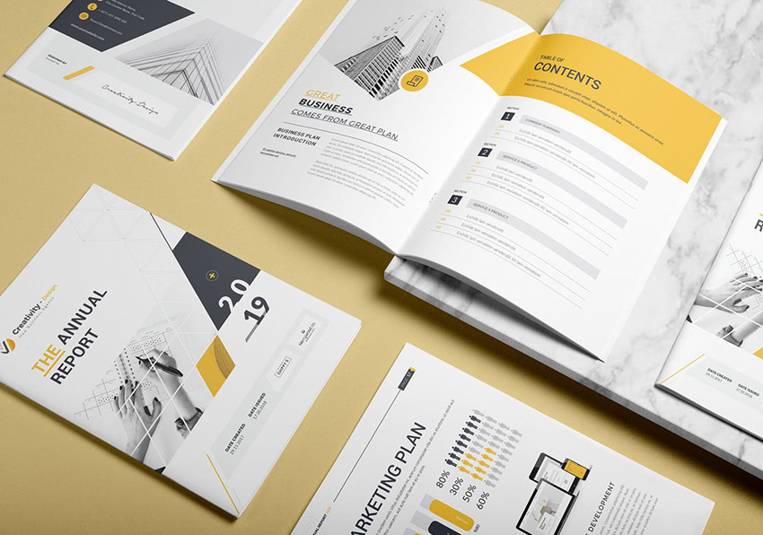 11 Best Annual Report Template Designs (For 11 & 11 Financial  Intended For Good Report Templates Intended For Good Report Templates
