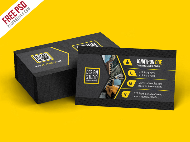11+ Best Business Card Design PSD Templates  Decolore Within Visiting Card Templates Psd Free Download