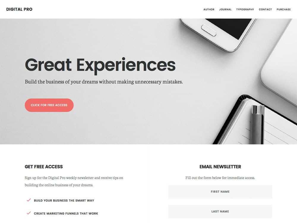 11+ Best Business WordPress Themes 11 - aThemes Throughout 10 Causes To Use A Web Site Template For Your Enterprise Web Site With 10 Causes To Use A Web Site Template For Your Enterprise Web Site