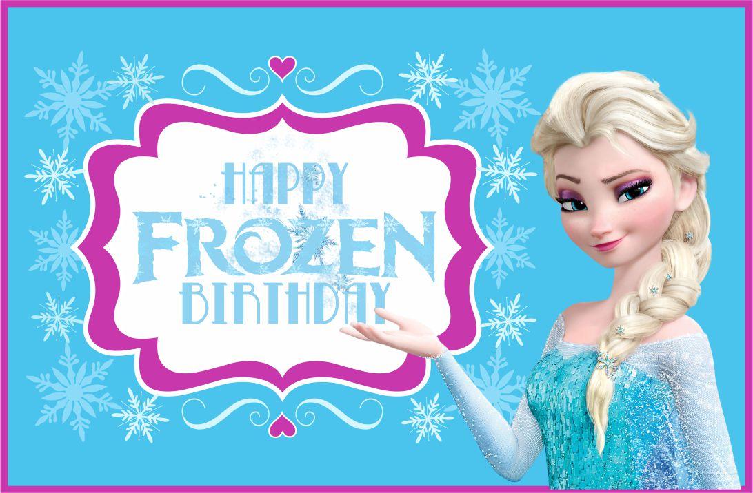 11 Best Disney Frozen Printable Birthday Cards - printablee For Frozen Birthday Card Template
