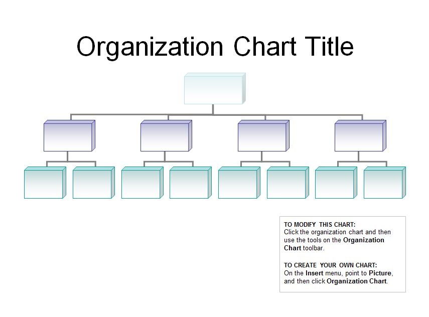 11 Best Free Printable Organizational Chart Template - printablee.com Throughout Word Org Chart Template