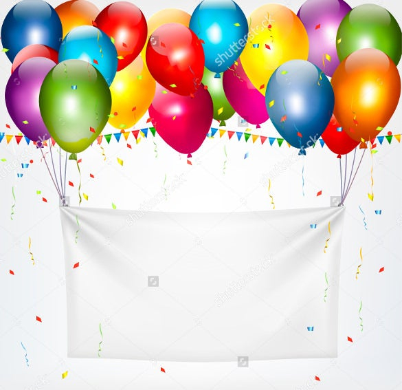 11+ Birthday Banner Templates – Free Sample, Example, Format  Inside Free Happy Birthday Banner Templates Download With Free Happy Birthday Banner Templates Download