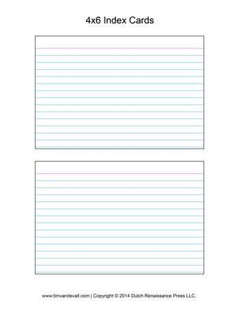 11 Blank 11 X 11 Index Card Template Word Templates for 11 X 11 Index  With 5 By 8 Index Card Template Within 5 By 8 Index Card Template