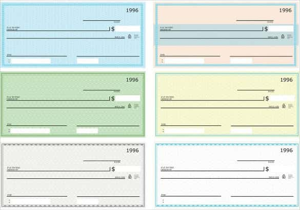 11+ Blank Check Template - DOC, PSD, PDF & Vector Formats  Free  Within Blank Business Check Template Word In Blank Business Check Template Word