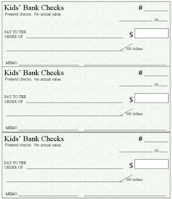 11+ Blank Check Templates For Microsoft Word - Website, WordPress, Blog Pertaining To Blank Business Check Template Word Within Blank Business Check Template Word