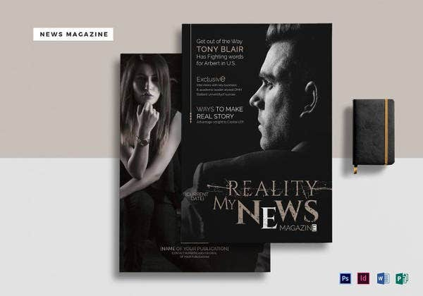 11+ Brand New Magazine Template - Free Word, PSD, EPS, AI  Throughout Magazine Template For Microsoft Word Intended For Magazine Template For Microsoft Word