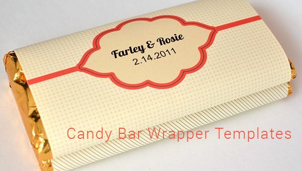 11+ Candy Bar Wrapper Templates - PDF, PSD, EPS  Free & Premium  Within Free Blank Candy Bar Wrapper Template Regarding Free Blank Candy Bar Wrapper Template
