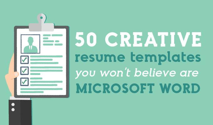 11 Creative Resume Templates You Won