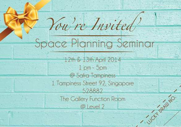 11 Customize Our Free Example Of Invitation Card For Seminar For  Regarding Seminar Invitation Card Template Intended For Seminar Invitation Card Template