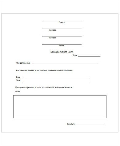 11 Doctors Note Templates - Fake & Excuse Samples With Regard To Free Fake Doctors Note Template Download In Free Fake Doctors Note Template Download