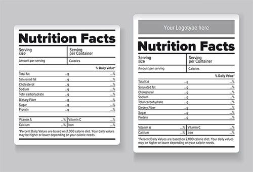 11+ Food Label Templates - Free PSD, EPS, AI, Illustrator Format  For Blank Food Label Template Within Blank Food Label Template
