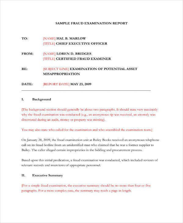 11+ Forensic Audit Report Templates - PDF, Word, Google Docs, Apple  Inside Forensic Report Template For Forensic Report Template