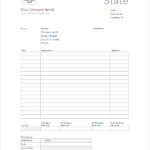 11+ Free Bank Statement Template PDF, PSD. Doc, Excel, Word Formats Inside Blank Bank Statement Template Download