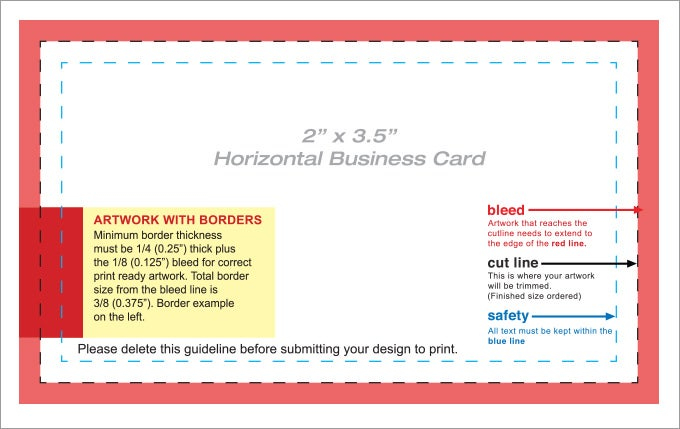 11+ Free Blank Business Card Templates - AI, Word, PSD  Free  Within Free Template Business Cards To Print