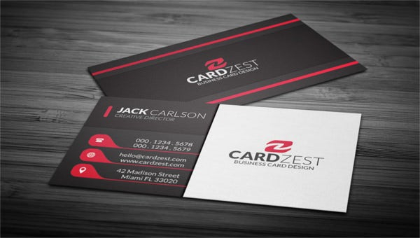11+ Free Business Card Templates - AI, Pages, Word  Free  Pertaining To Free Bussiness Card Template Pertaining To Free Bussiness Card Template