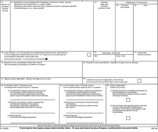 11+ Free Commercial Invoice Templates (Word  Excel  PDF) With Regard To Fedex Proforma Invoice Template In Fedex Proforma Invoice Template