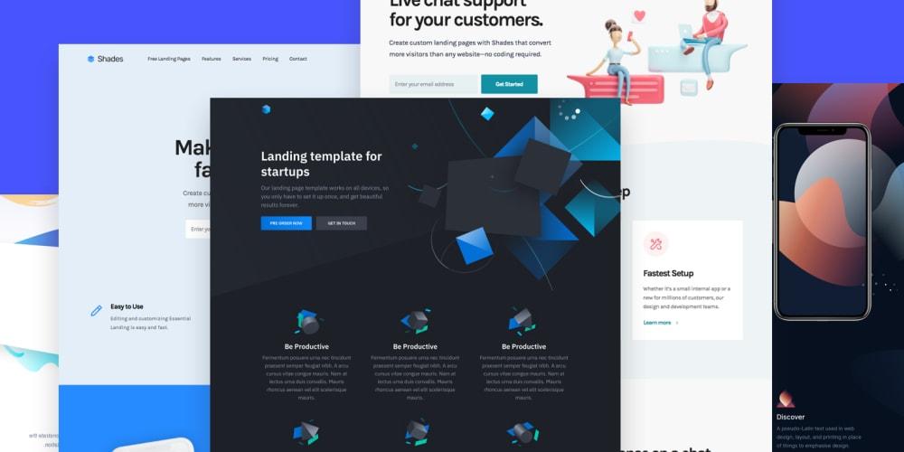 11 Free HTML landing page templates - DEV Pertaining To Consider Using Web Design Templates Throughout Consider Using Web Design Templates