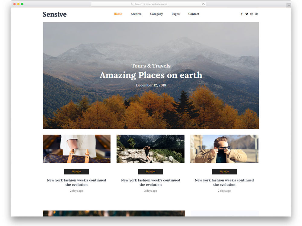 11+ Free HTML11 Website Templates For All Niches Of Professional Sites Inside Blank Html Templates Free Download