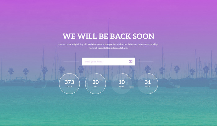 11+ Free HTML11 Website Under Construction, Coming Soon Templates With Regard To Blank Html Templates Free Download Regarding Blank Html Templates Free Download