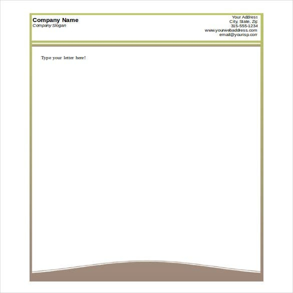 11+ Free Letterhead Templates in Microsoft Word  Free & Premium  With Regard To Headed Letter Template Word Pertaining To Headed Letter Template Word