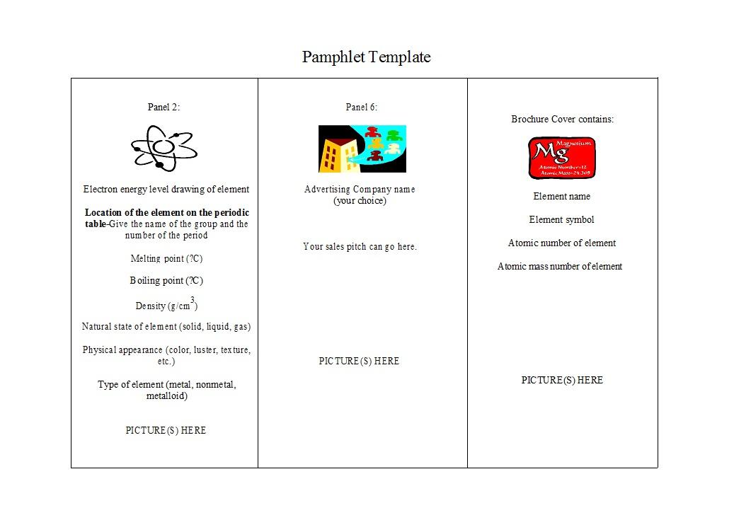 11 FREE Pamphlet Templates [Word / Google Docs] ᐅ TemplateLab In Google Drive Brochure Templates With Google Drive Brochure Templates