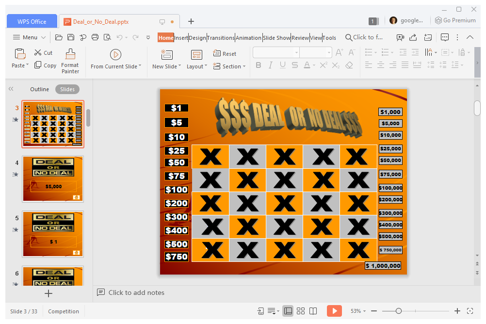 11 Free PowerPoint Game Templates for the Classroom For Price Is Right Powerpoint Template For Price Is Right Powerpoint Template.Html
