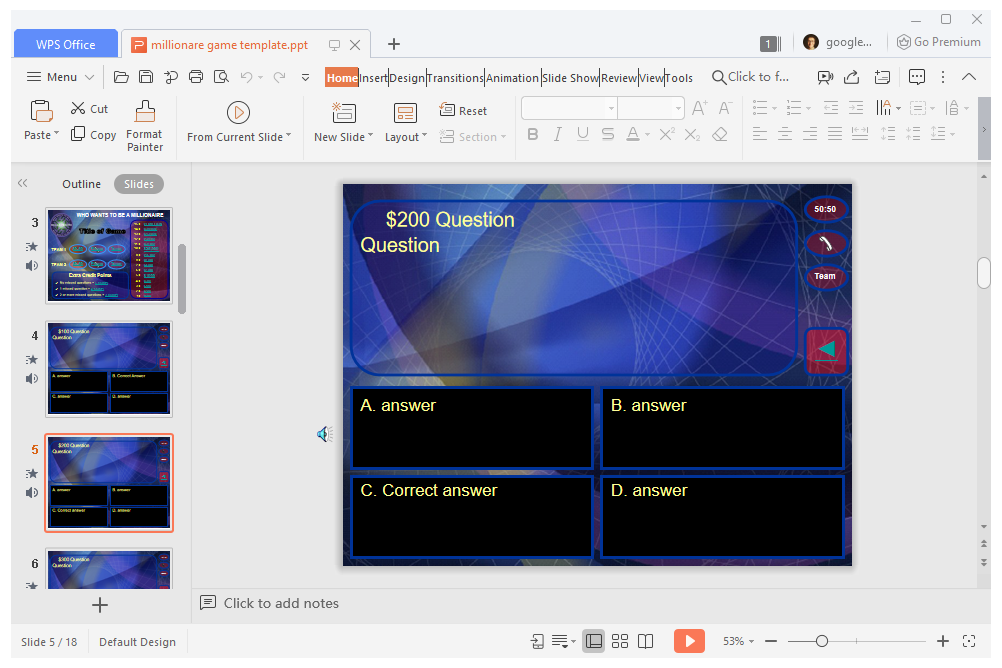 11 Free PowerPoint Game Templates for the Classroom For Price Is Right Powerpoint Template In Price Is Right Powerpoint Template.Html