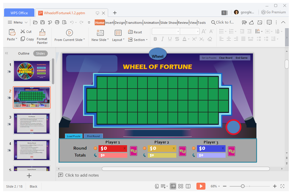 11 Free PowerPoint Game Templates for the Classroom With Regard To Price Is Right Powerpoint Template Inside Price Is Right Powerpoint Template.Html