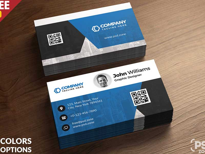 11+ Free Printable Business Card Templates PSD 11 Pertaining To Visiting Card Templates Psd Free Download Inside Visiting Card Templates Psd Free Download