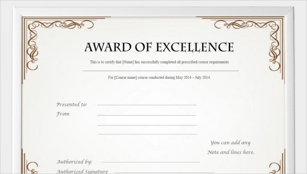 11+ Free Printable Certificate Template - Examples in PDF, Word  With Regard To Blank Certificate Templates Free Download With Regard To Blank Certificate Templates Free Download