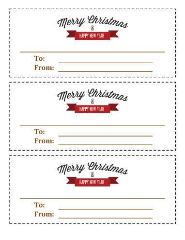 11 Free Printable Christmas Coupons  Hloom Regarding Coupon Book Template Word