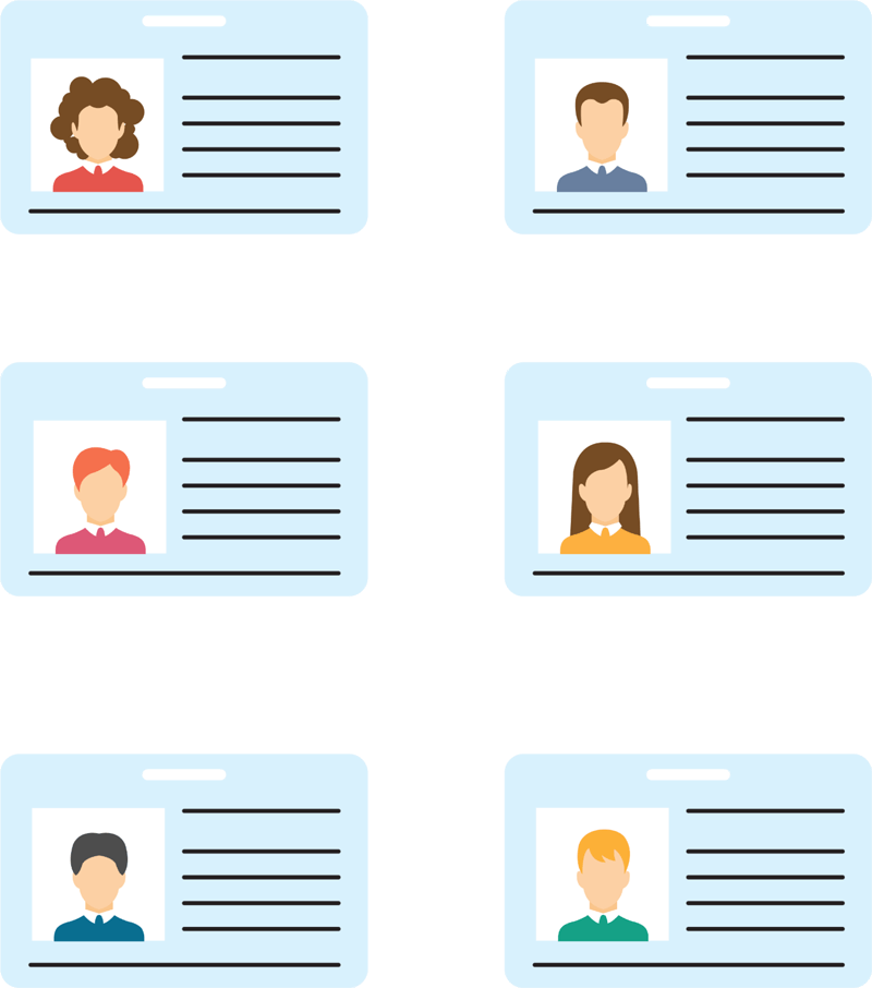 11+ FREE Printable Name Tag Templates (Word  PDF) With Visitor Badge Template Word Inside Visitor Badge Template Word