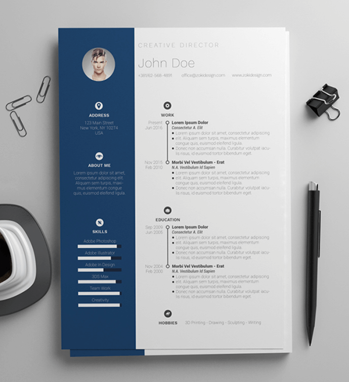 11 Free Resume Templates for Microsoft Word (& How to Make Your Own) Within Free Basic Resume Templates Microsoft Word In Free Basic Resume Templates Microsoft Word