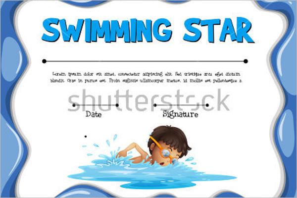 11+ Free Swimming Certificate Templates - Samples, Designs, Formats With Free Swimming Certificate Templates Intended For Free Swimming Certificate Templates