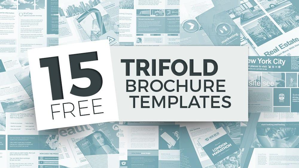 11 Free Tri-Fold Brochure Templates in PSD & Vector - BrandPacks Pertaining To 6 Panel Brochure Template With 6 Panel Brochure Template