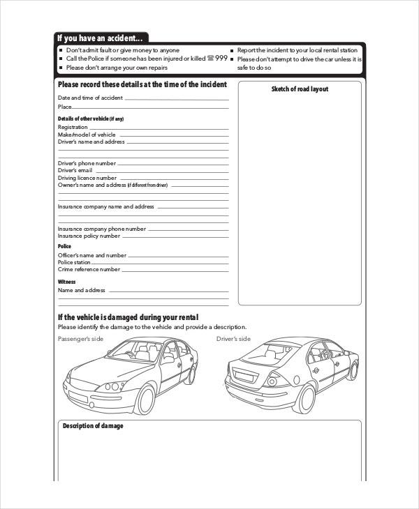 11+ Free Vehicle Report Templates - PDF, Docs, Word  Free  Pertaining To Car Damage Report Template Pertaining To Car Damage Report Template