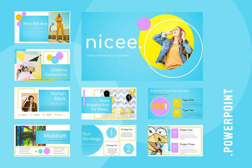 11+ Fun PowerPoint Templates With Colorful PPT Slide Designs (For  With Fun Powerpoint Templates Free Download Within Fun Powerpoint Templates Free Download
