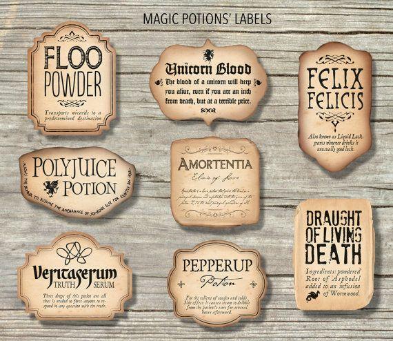 11 Harry Potter Potion Label - Labels Database 11 Within Harry Potter Potion Labels Templates Regarding Harry Potter Potion Labels Templates