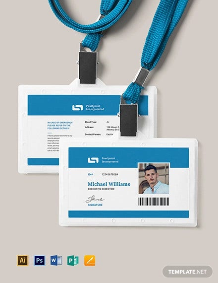 11+ ID Card Templates - PSD, EPS, PNG  Free & Premium Templates With Regard To Pvc Id Card Template Within Pvc Id Card Template