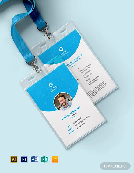 11+ Identity Card Designs - Word, PSD  Design Trends - Premium  With Regard To Hospital Id Card Template Intended For Hospital Id Card Template