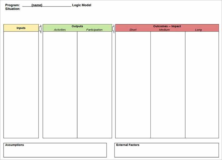 11+ Logic Model Templates – Free Word, PDF Documents With Regard To Logic Model Template Microsoft Word In Logic Model Template Microsoft Word