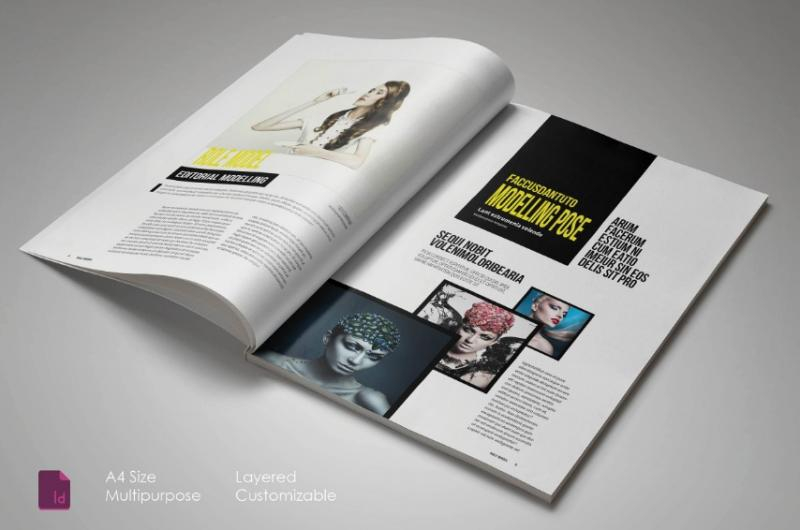 11+ Magazine Template Word Format for Business, Corporate and  With Regard To Magazine Template For Microsoft Word Inside Magazine Template For Microsoft Word
