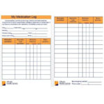 11 Medication List Templates for any Patient [Word, Excel, PDF] Within Medication Card Template